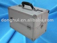 Diamond style Aluminum surface Instrument box