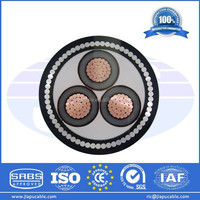 XLPE Cable 500mm2 1-5 cores Low/Medium Voltage with Different Standards