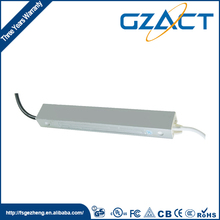 TUV SAA CE approved 15V 2A 30w IP67 waterproof electronic led driver