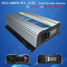 DC 48v to ac 230v pure sine wave 1000w grid tie converter for solar panel