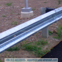 Great corrosion resistant / high intensity steel w beam guardrail