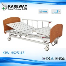 Manual home care medical bed,wood folding bed,hospital beds for sale