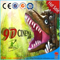 Amusement game machine popular cinema ride 9d cinema