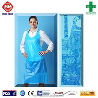 garden waterproof rubber apron with tool set