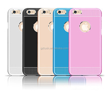 The metal shell and PP 2-in-1 mobile phone case for iphone 6 case