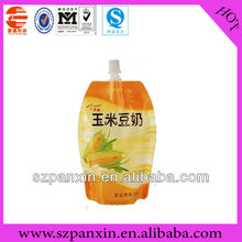 sealable food grade packing cooking oil plastic bag