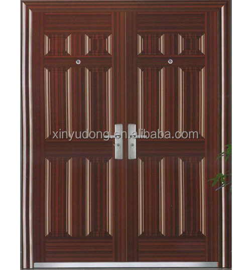 residential steel fire rated double entry doors buy residential steel double door residential. Black Bedroom Furniture Sets. Home Design Ideas