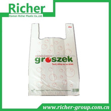 Hongkong China biodegradable t-shirt bag