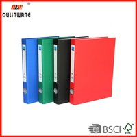 PP 2D Ring Binder with pocket