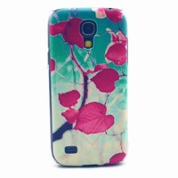 Plant protection cover for Samsung S4 mini i9190 with Plastic meterial