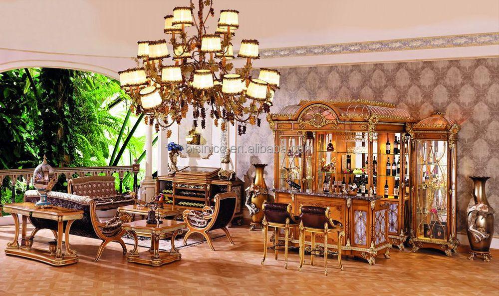De lujo de estilo barroco francés muebles de bar/europeo clásico ...
