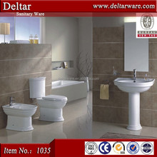 two piece toilet flushing ,chaozhou high quality bathroom unit toilet flush system
