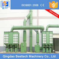2014 hot dust collector for electric induction furnace, cartridge filter dust collector
