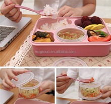 100%food-grade Leakproof Bento Lunch Box Container,Leakproof Bento Lunch Box Container with compartments food container