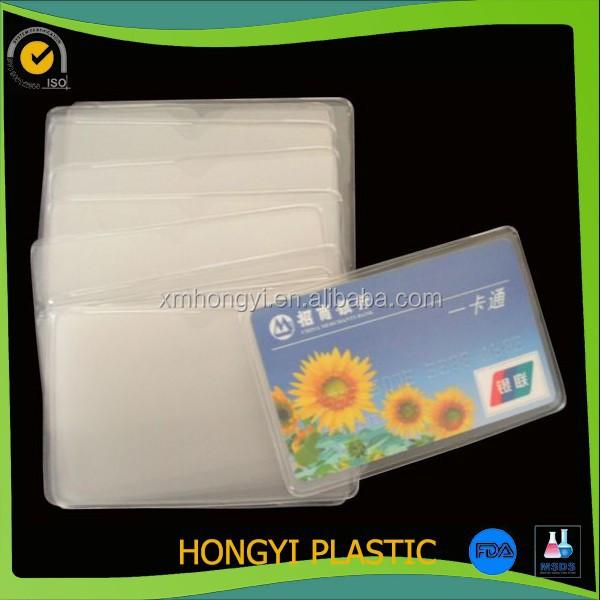 Clear Bank Card Clear Soft Pvc Bank Card