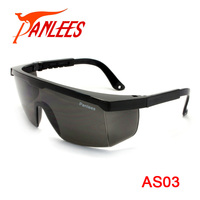 Guangzhou Manufacturer Panlees Industrial Welding Protective CE UV Dark Lens Safety Glasses