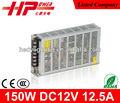Buena calidad, voltaje constante 150 W 12,5 A 12 V interruptor de corriente eléctrica con CE RoHS