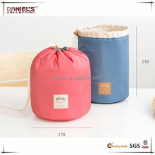 waterproof cosmetic drawstring bag ,travel makeup receive pouch ,girls toiletry bags