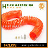 2014 best quality colored best coiled garden hose