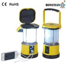 portable 2w led solar flashing light