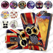 For Samsung Galaxy Note 3 N9000 Folio Print Flip Leather Case Phone Bag Back Cover Bags