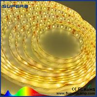 high quality amber flexible 5050 waterproof led strip light