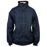 Waterproof nylon equestrian jacket for women