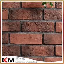 2015 Best Quality red brick size thin landscaping interior decoration brick size -china decor wholesale