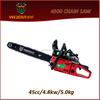 "18""/20""/22"" cheap chainsaw chainsaw 18/20/22 in 4500 5200 5800 single chainsaw cylinder"