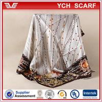 Factory price turkish silk scarf, Turkey scarf