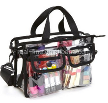 Makeup Artist Clear PVC Set Bag w/ Removable Shoulder Strap