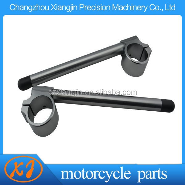 Motorcycle CNC Clip-on Handlebar 35mm-50mm for YZF R6 2005 06 07 08 09 10 11