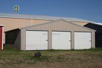 prefab steel structure building/Steel Building Car Port Storage Shed Vehicle Van Garage prefabricated