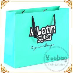 Cheap advertising tote cheap square bottom paper bag for wholesales