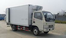 Cheaper Dongfeng 2T refrigerated cargo van/freeze truck