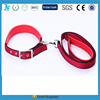 Plain foam neck noose pull neckband pet dog traction rope net color dog collar leash / dog supplies