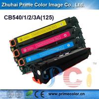 Premium laser toner cartridge for HP CB540A CB541A CB542A CB543A