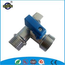 cw617n china 1 2 inch brass 3 way ball valve for washing machine