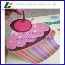 Factory price custom Self-Adhesive Plastic Labels printing