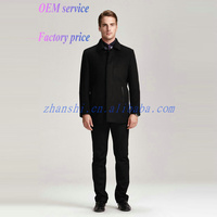 Newest Style Handsome Woolen Mens pullover winter jackets