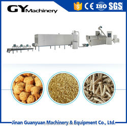cost saving soya bean protein making line/protein food mahine