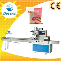 Automatic cooked food sandwich packaging machine