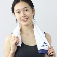 Sandy Embroidery & Embossed Custom Logo 100% Cotton Soft Baby Towel Fingertip Towel