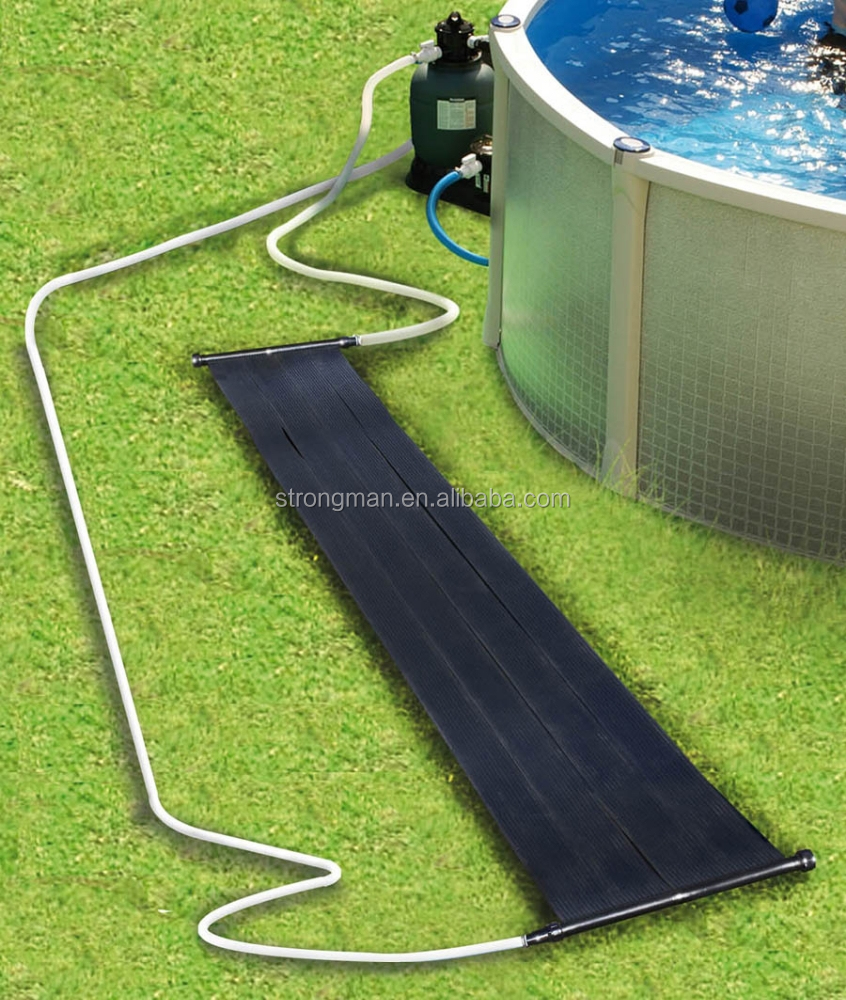 Black Pp Solar Heater For Swimming Pool Buy Pool Solar Panel Solar Water Heater Solar Heating