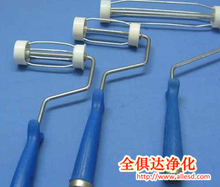 ABS+Aluminum alloy sticky roller handle with different size