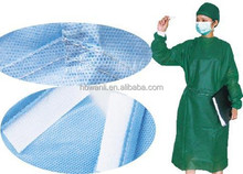 Sterile SMS Disposable Surgical Gown With Knitted Cuff For Medical Use
