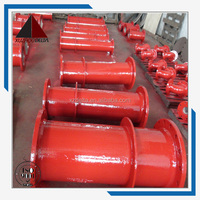 Double flanged Pipe Class puddle flange