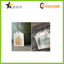 China supplier wholesale accept custom affordable fancy paper making children garment hang tag and label