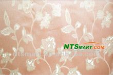 100%polyester organza embroidery fabric for curtain/Decorative