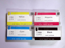 Factory price for HP 711 refill ink cartridge, compatible for HP Designjet T520 T120